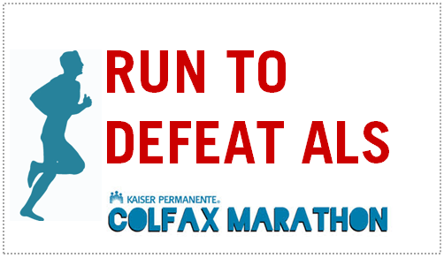 Run to Defeat ALS Colfax Marathon